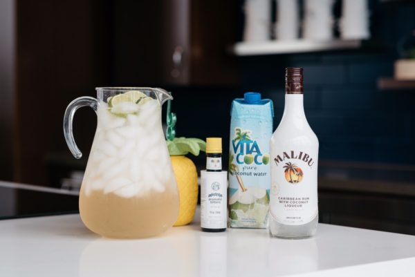 Bows & Sequins shares her summer cocktail recipe with Malibu Rum.