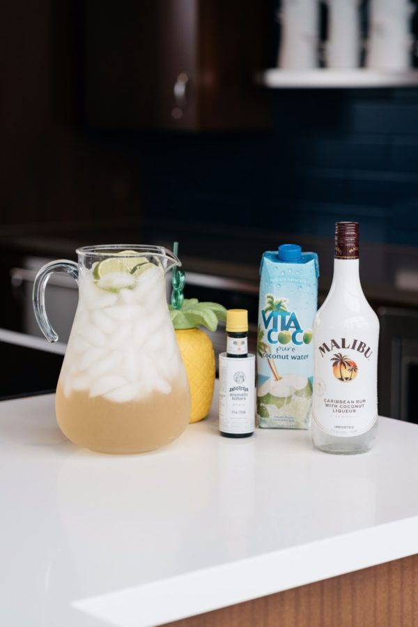 Bows & Sequins shares what to make with Malibu Rum.