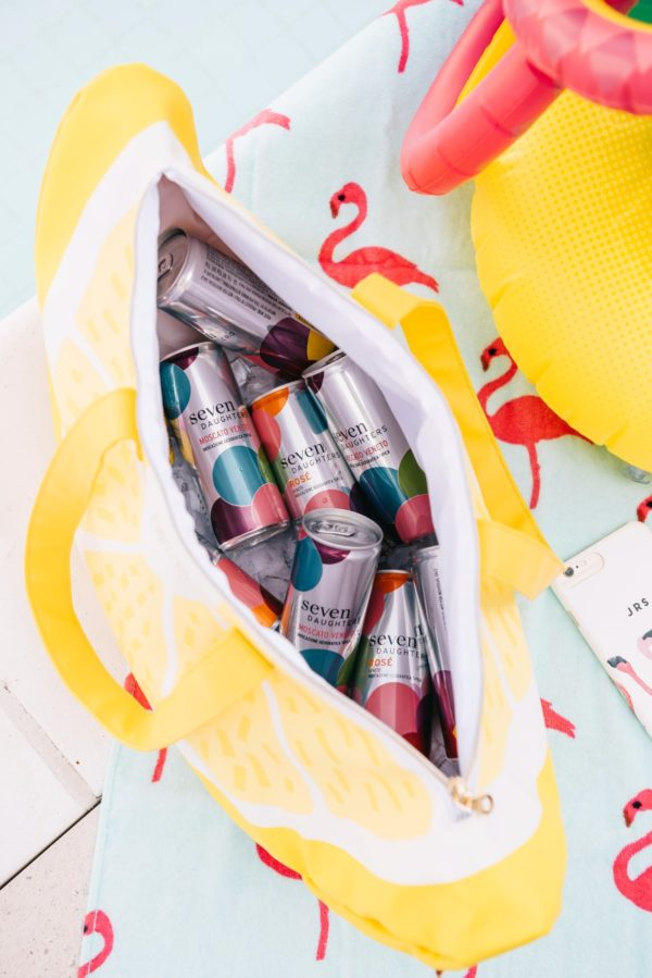 Bows & Sequins reviews the best affordable moscato and rose wine cans for summer.