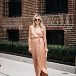 Rose Gold Wrap Dress