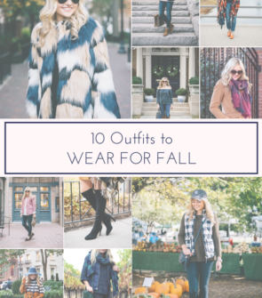 Bows & Sequins shares her top 10 staple pieces for fall and fall outfit inspiration.