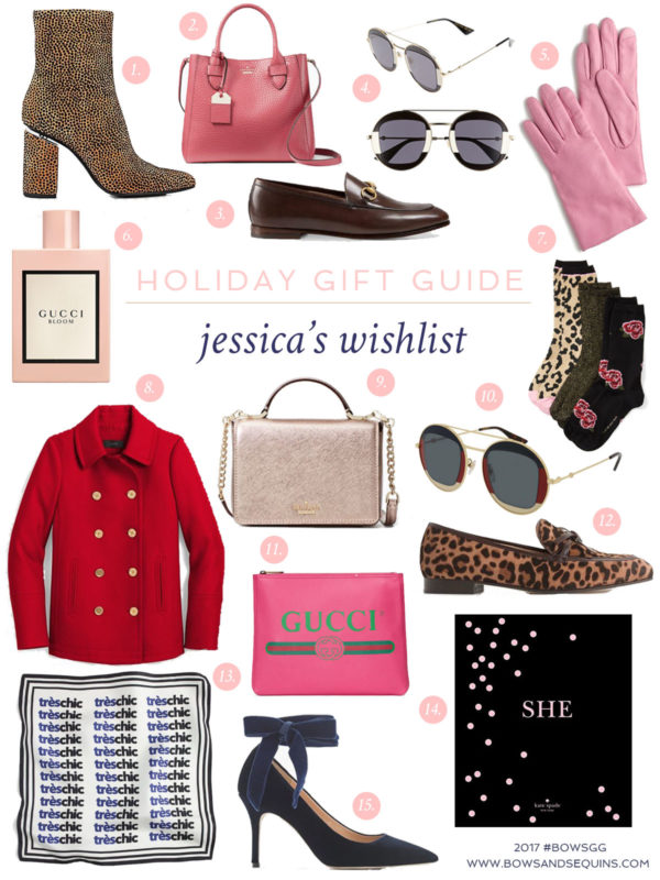 Bows & Sequins shares her personal wish list in her first gift guide of the 2017 25 Days of Gift Guides Series!