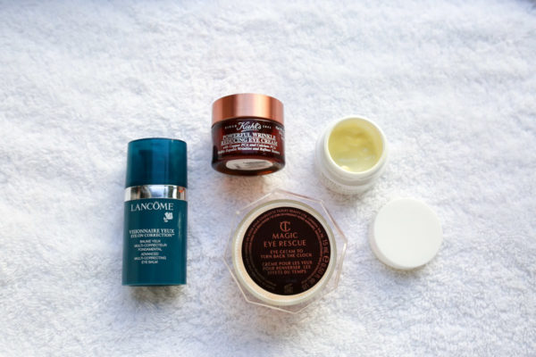 Beauty blogger Bows & Sequins shares her favorite eye creams to use in the fall and winter.