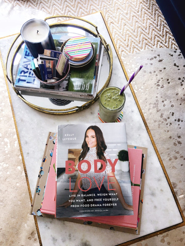 Bows & Sequins shares a one week meal plan starting with the Fab 4 Smoothie from Be Well By Kelly in the Body Love book.