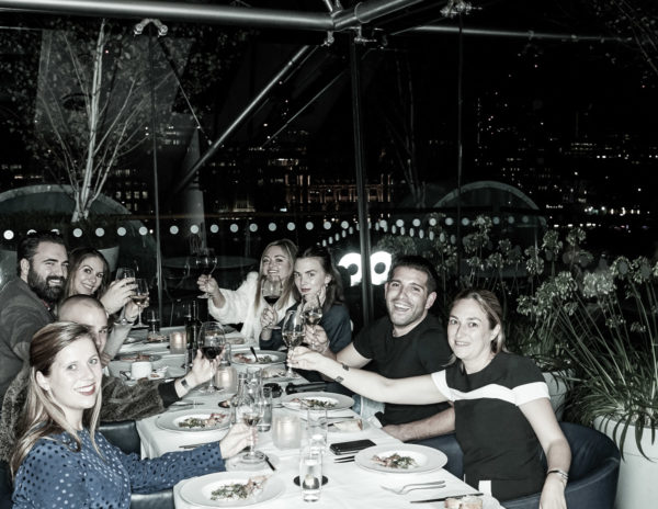 Travel blogger Jessica Sturdy visits OXO Tower for dinner in London