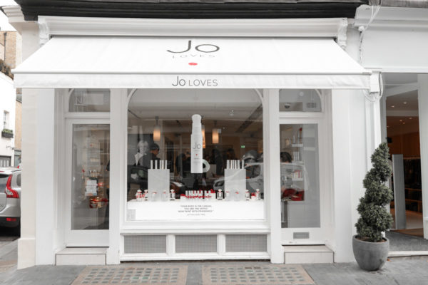 Blogger Jessica Sturdy visit Jo Loves in London