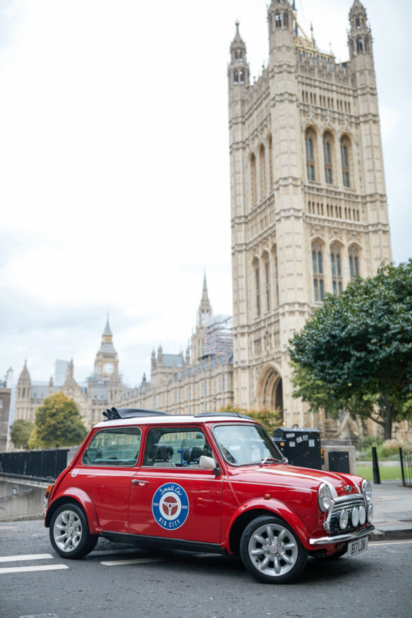 Small Car Big City Vintage Mini Cooper London Tour