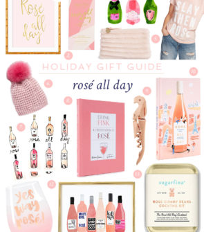 Jessica Sturdy shares the best gifts to buy for the rosé lovers in your life. Rosé all day, it's always rosé season!