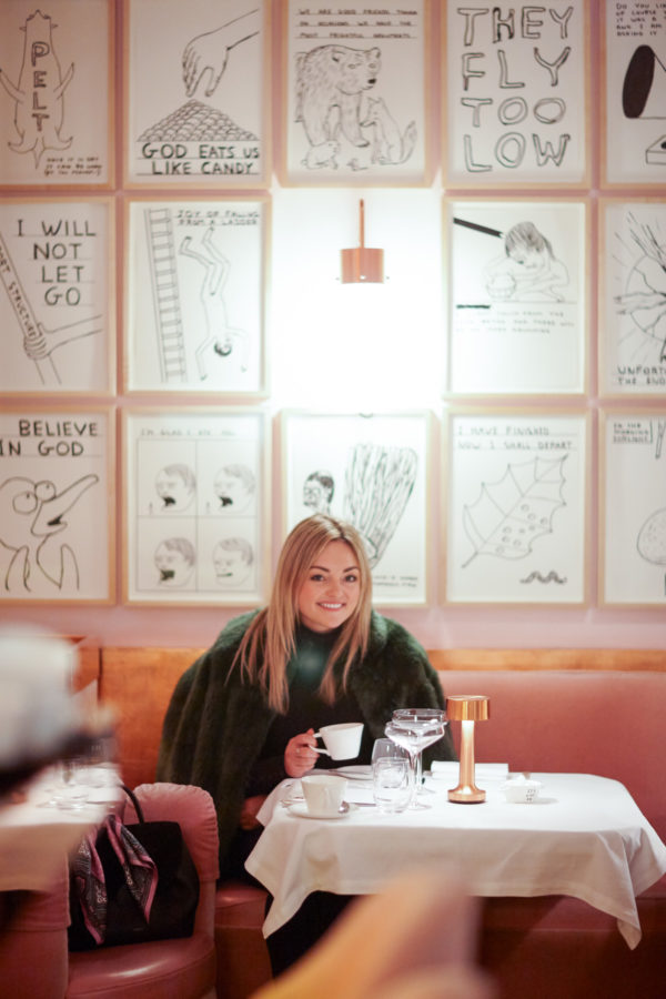 Blogger Jessica Sturdy shares her London Travel Guide, Tea at Sketch