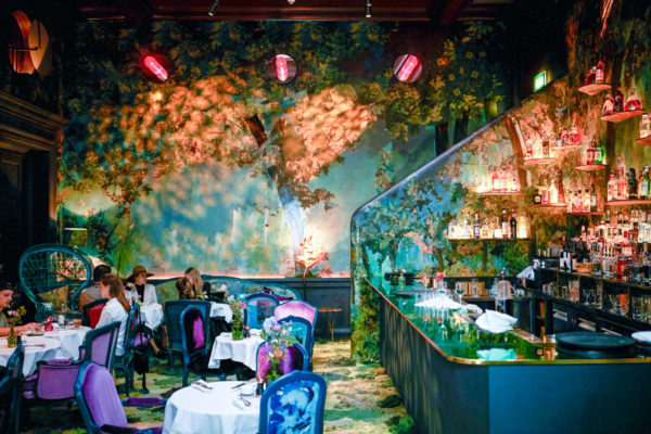 Travel blogger Jessica Sturdy at the Sketch London Glades Room