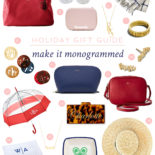 Gift Guide #7: Make It Monogrammed