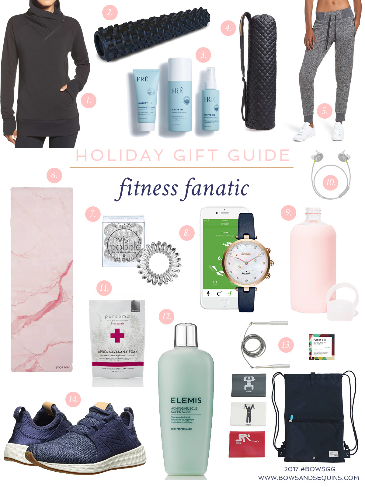Jessica Sturdy shares the best gifts to give the fitness guru on your list!