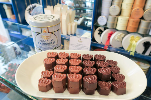 London Travel Guide Charbonnel et Walker Chocolate Tasting in London
