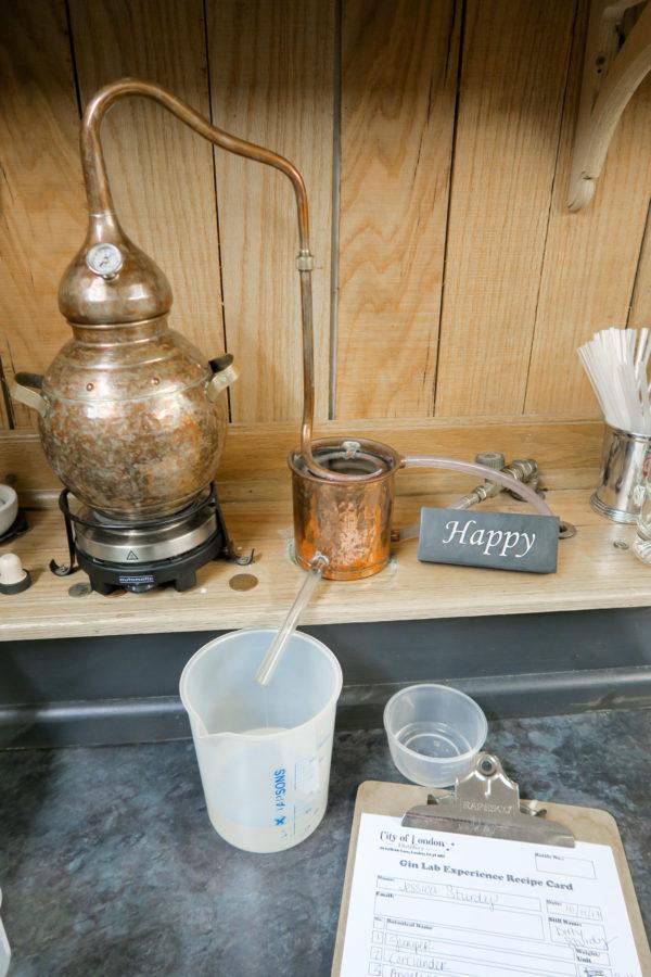 City of London Gin Distillery Gin Lab