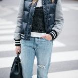 Bomber Jacket + Boyfriend Jeans
