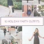 10 Holiday Party Outfits