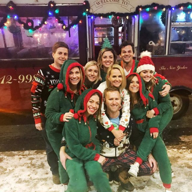 Fourth Annual Holiday Trolley Crawl with a few of myhellip