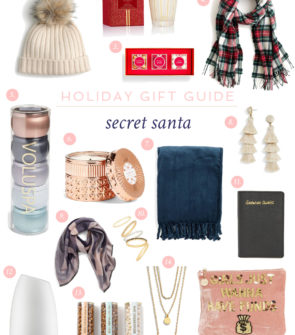 Jessica Sturdy shares her favorite gifts to give and get in Secret Santa gift exchanges this holiday season.