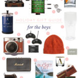 Gift Guide #10: For the Guys