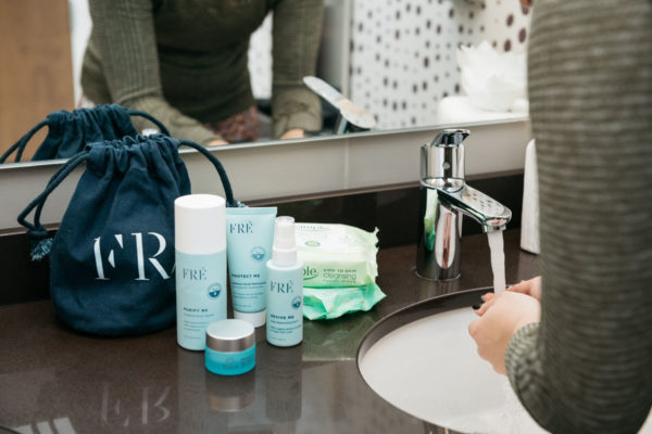 Beauty and lifestyle blogger Jessica Sturdy shares her post-gym beauty routine.