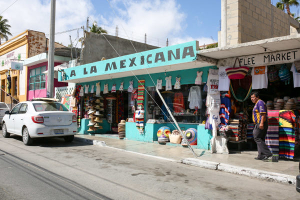 Jessica Sturdy shares photos from exploring San Jose del Cabo in Mexico. Brightly colored storefronts