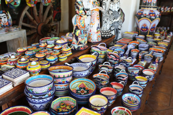 Jessica Sturdy shares photos from exploring San Jose del Cabo in Mexico. Local pottery