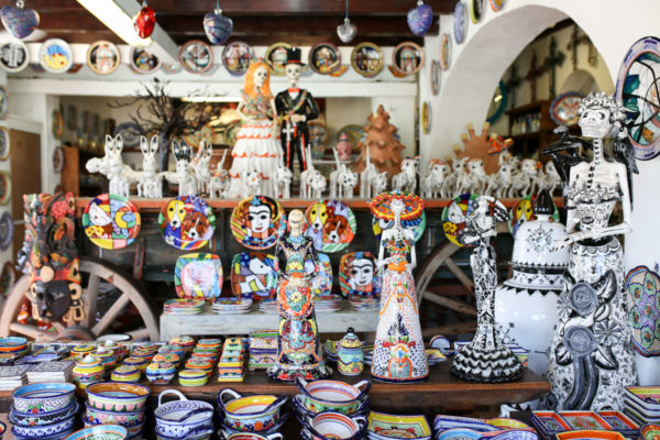 Jessica Sturdy shares photos from exploring San Jose del Cabo in Mexico. Handmade ceramics
