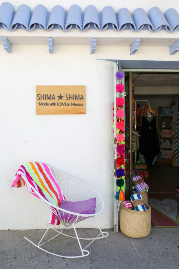 Jessica Sturdy shares photos from exploring San Jose del Cabo in Mexico. The cutest store, Shima Shima