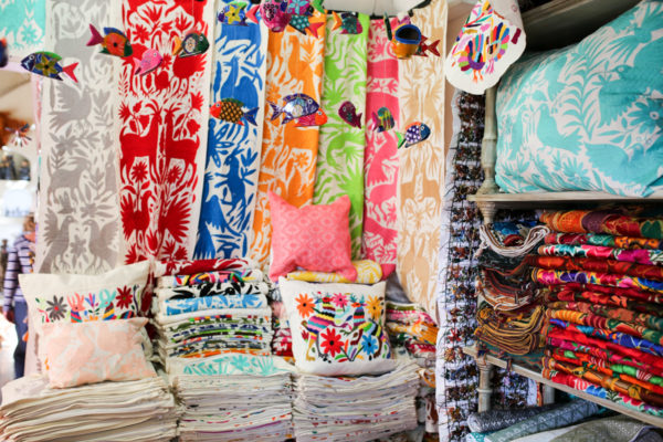 Jessica Sturdy shares photos from exploring San Jose del Cabo in Mexico. Gorgeous Mexican embroidery