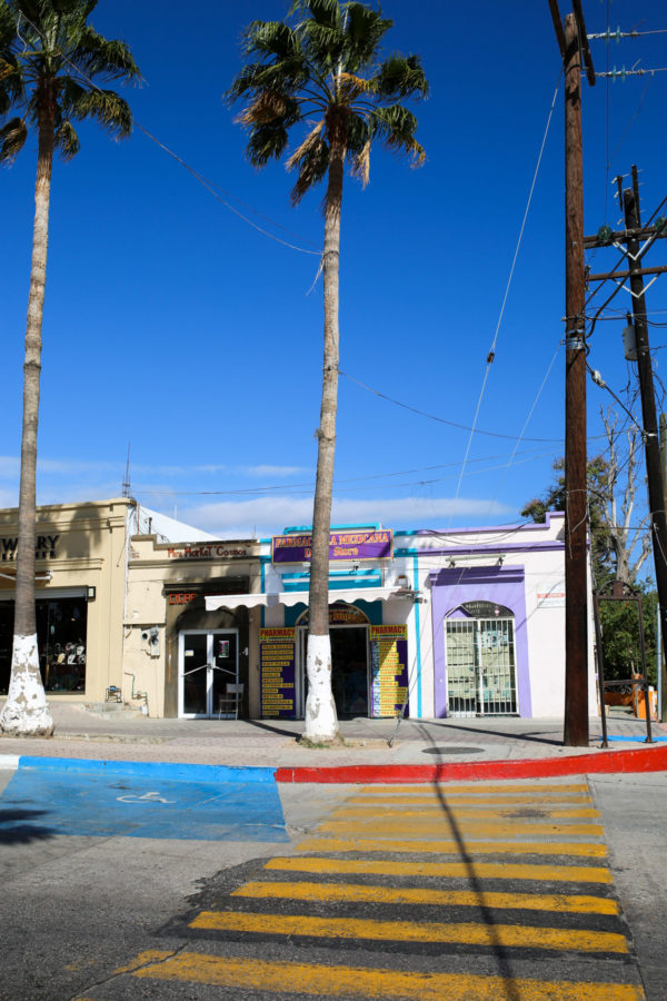 Jessica Sturdy shares photos from exploring San Jose del Cabo in Mexico. Colorful city streets