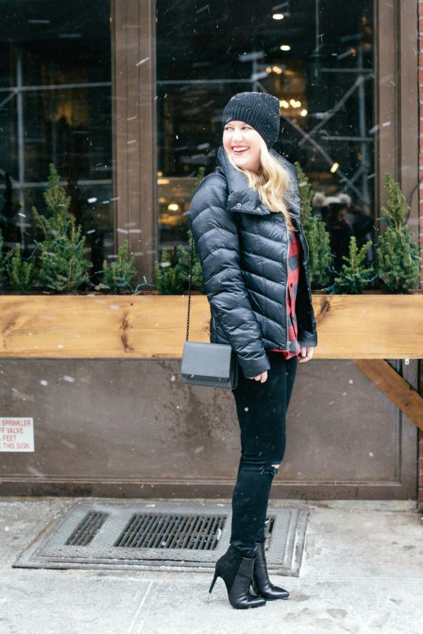 Meghan from Wit & Whimsy shares what to wear on snow days