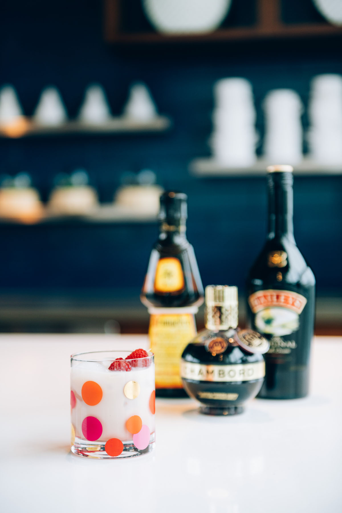 Jessica Sturdy shares her recipe for a winter cocktail with nuts and berries.