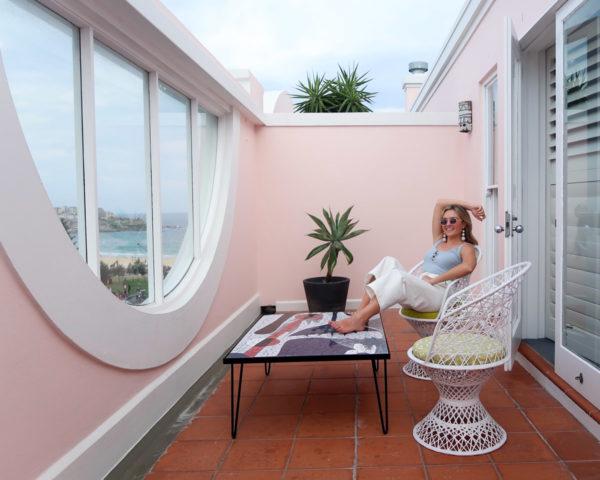 Jessica Sturdy at Hotel Ravesis in Bondi Beach Australia