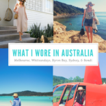 Everything I Wore in Australia