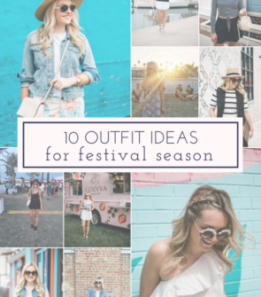 Jessica Sturdy shares ten outfit ideas and inspiration for summer festival season.