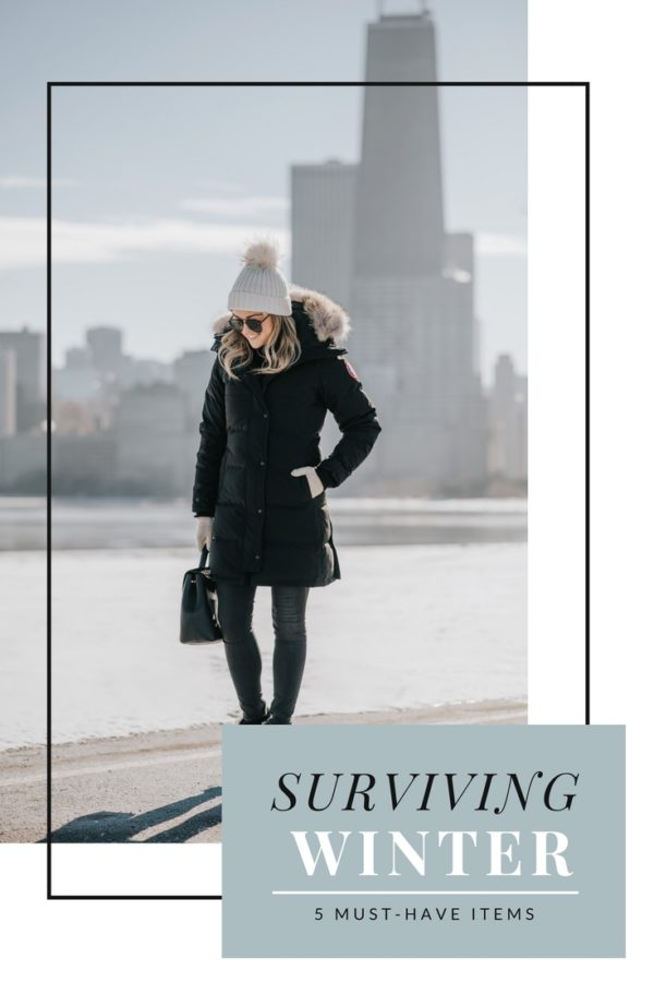 Jessica Sturdy shares her five favorite cold-weather pieces and tips for surviving a Chicago winter.