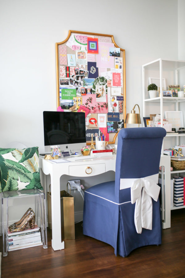 Jessica Sturdy shares photos of her home office in Chicago.