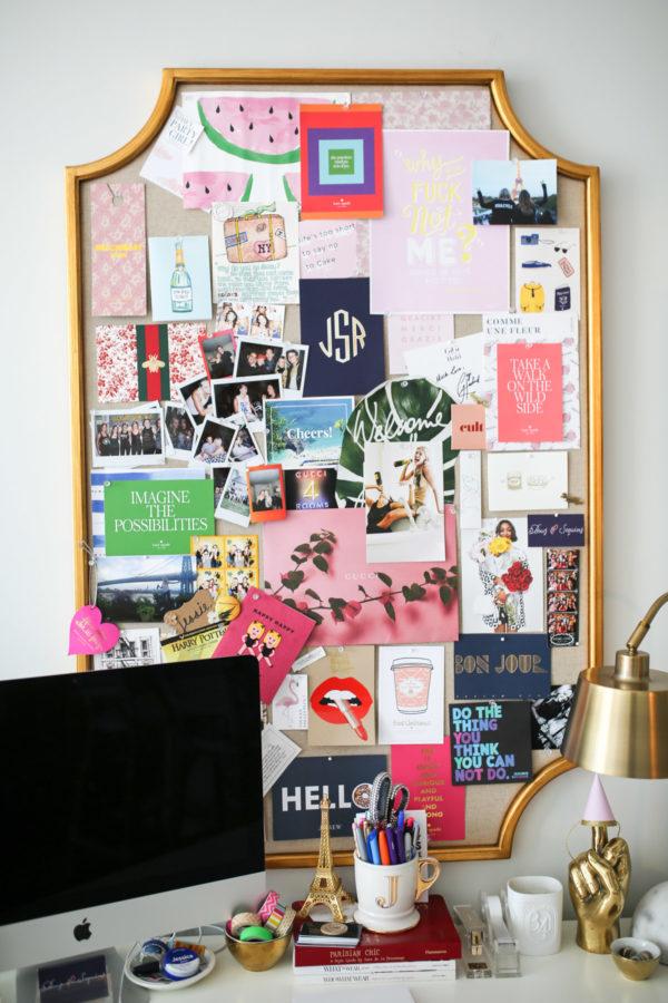 Jessica Sturdy shares memo board diy ideas.