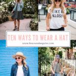 10 Ways to Wear a Hat
