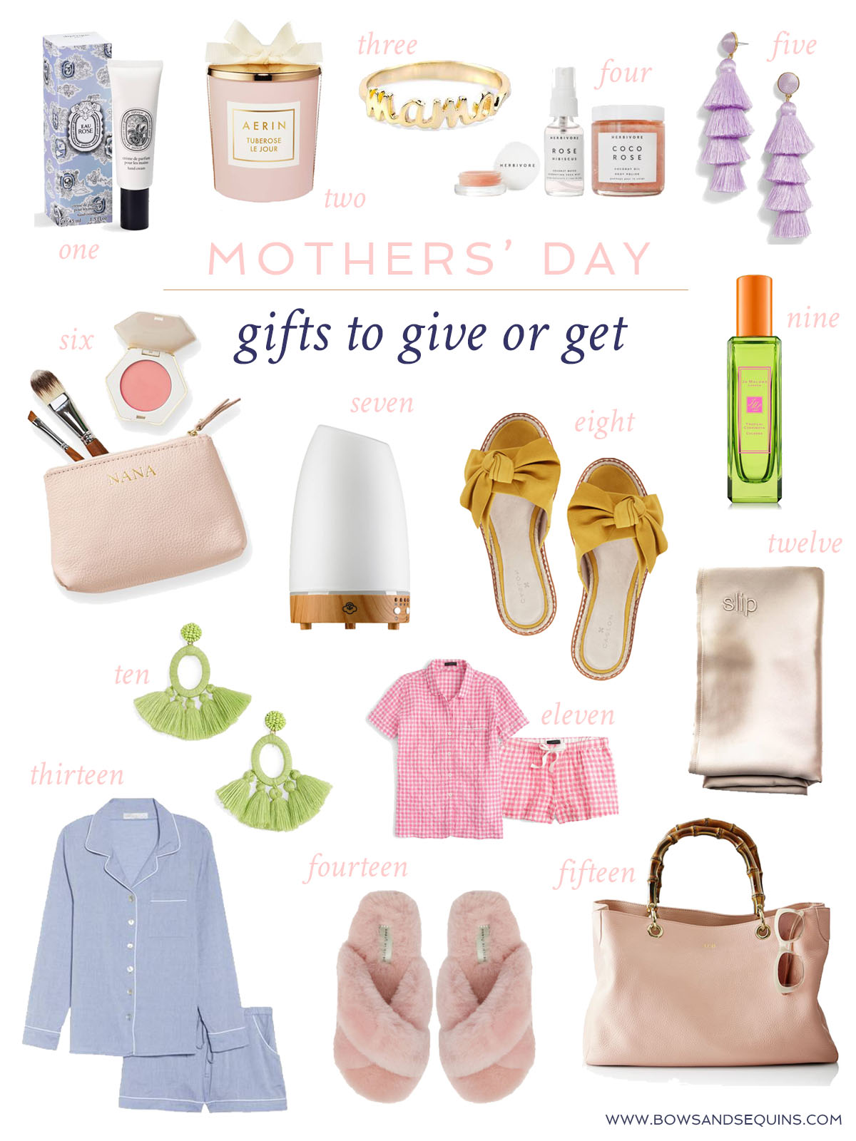 Jessica Sturdy Mother's Day Gift Guide 2018