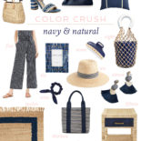 Color Crush: Navy + Natural