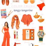 Color Crush: Tangerine