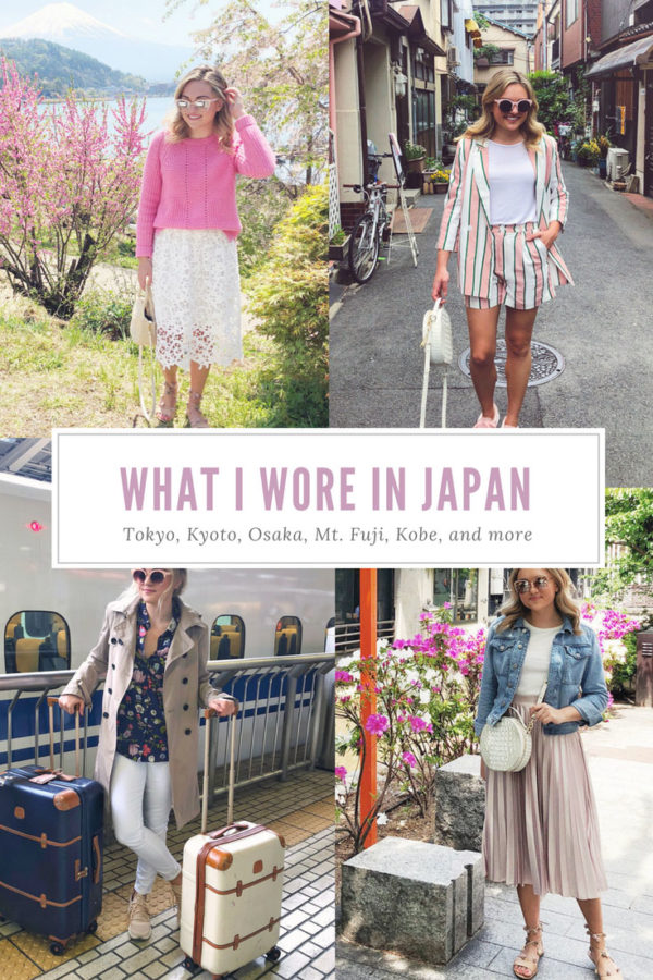 Jessica Sturdy Japan Springtime Outfits Recap What to Wear