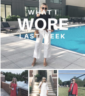 Chicago fashion blogger Jessica Sturdy styling her June daily outfits.