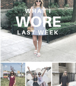 Jessica Sturdy shares her daily outfit iphone photos in a Monday post called What I Wore Last Week