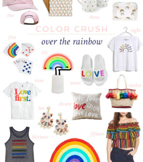 Jessica Sturdy shares her favorite rainbow products for Pride 2018.