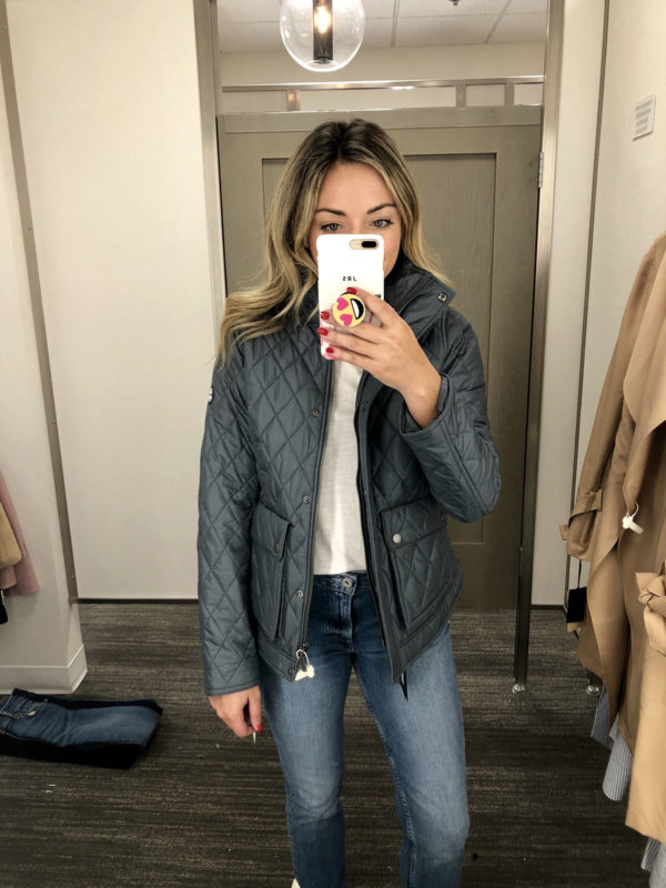Nordstrom Anniversary Sale Barbour Coat Quilted