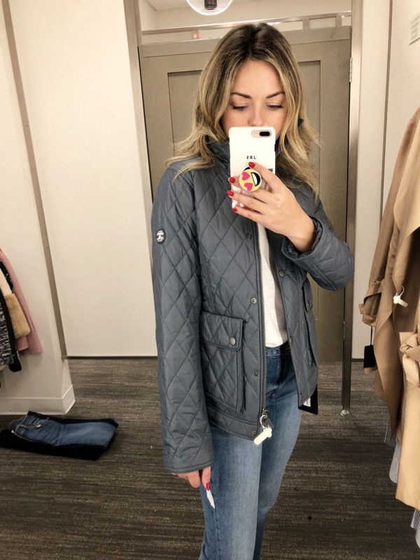 Nordstrom Anniversary Sale Barbour Coat Quilted Womens
