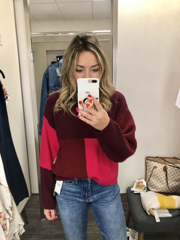 Nordstrom Anniversary Sale BP Colorblock Sweater