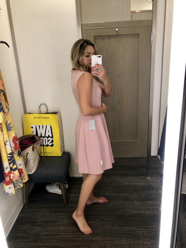 Nordstrom Anniversary Sale Dress Round-Up: Eliza J Fit & Flare Pink